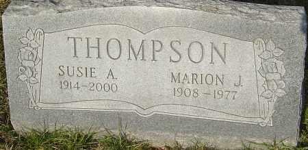 THOMPSON, SUSIE A - Franklin County, Ohio | SUSIE A THOMPSON - Ohio Gravestone Photos