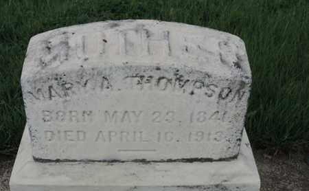 THOMPSON, MARY A - Franklin County, Ohio | MARY A THOMPSON - Ohio Gravestone Photos