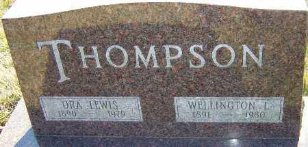 THOMPSON, ORA - Franklin County, Ohio | ORA THOMPSON - Ohio Gravestone Photos