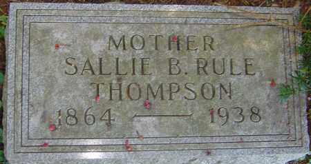 THOMPSON, SALLIE BELL - Franklin County, Ohio   SALLIE BELL THOMPSON - Ohio Gravestone Photos
