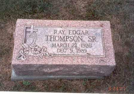 THOMPSON, SR., RAY EDGAR - Franklin County, Ohio   RAY EDGAR THOMPSON, SR. - Ohio Gravestone Photos