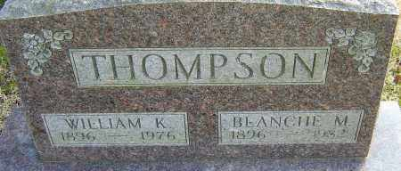 THOMPSON, BLANCHE M - Franklin County, Ohio | BLANCHE M THOMPSON - Ohio Gravestone Photos
