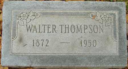 THOMPSON, WALTER - Franklin County, Ohio   WALTER THOMPSON - Ohio Gravestone Photos