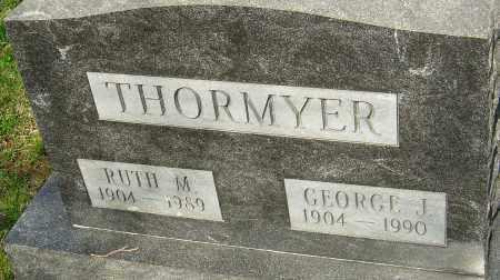 THORMYER, RUTH M - Franklin County, Ohio | RUTH M THORMYER - Ohio Gravestone Photos