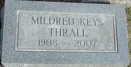 THRALL, MILDRED ELLEN - Franklin County, Ohio | MILDRED ELLEN THRALL - Ohio Gravestone Photos
