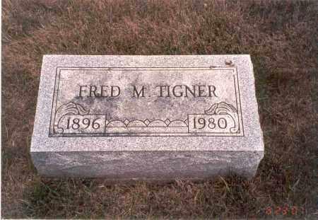 TIGNER, FRED M. - Franklin County, Ohio | FRED M. TIGNER - Ohio Gravestone Photos