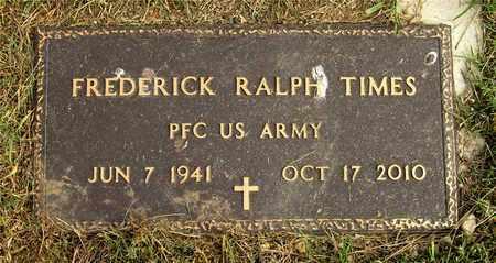 TIMES, FREDERICK RALPH - Franklin County, Ohio   FREDERICK RALPH TIMES - Ohio Gravestone Photos