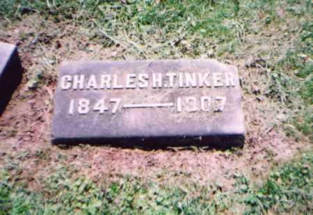 TINKER, CHARLES H. - Franklin County, Ohio   CHARLES H. TINKER - Ohio Gravestone Photos