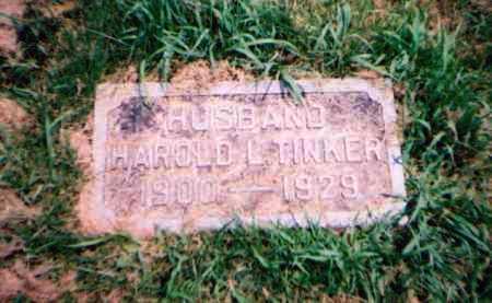 TINKER, HAROLD L. - Franklin County, Ohio | HAROLD L. TINKER - Ohio Gravestone Photos