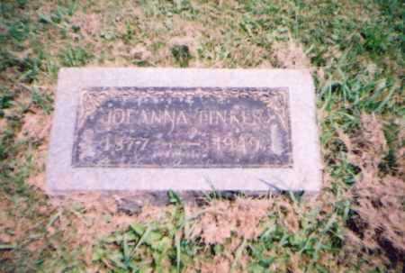 TINKER, JOEANNA - Franklin County, Ohio | JOEANNA TINKER - Ohio Gravestone Photos