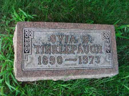 TINKLEPAUGH, OVIA B. - Franklin County, Ohio | OVIA B. TINKLEPAUGH - Ohio Gravestone Photos