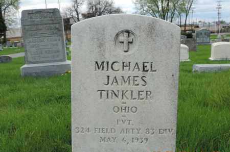 TINKLER, MICHAEL JAMES - Franklin County, Ohio | MICHAEL JAMES TINKLER - Ohio Gravestone Photos