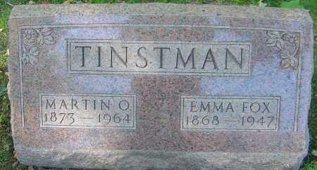 TINSTMAN, EMMA - Franklin County, Ohio   EMMA TINSTMAN - Ohio Gravestone Photos