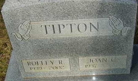 TIPTON, ROLLEY R - Franklin County, Ohio | ROLLEY R TIPTON - Ohio Gravestone Photos
