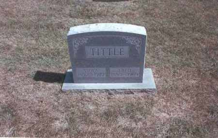 TITTLE, FRED - Franklin County, Ohio | FRED TITTLE - Ohio Gravestone Photos
