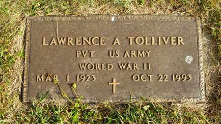 TOLLIVER, LAWRENCE A. - Franklin County, Ohio | LAWRENCE A. TOLLIVER - Ohio Gravestone Photos