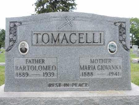 TOMACELLI, BARTOLOMEO - Franklin County, Ohio | BARTOLOMEO TOMACELLI - Ohio Gravestone Photos