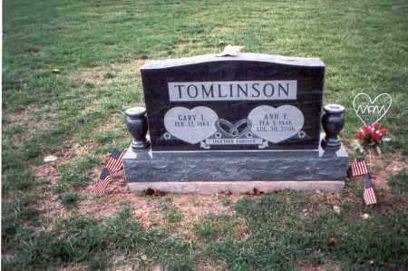 TOMLINSON, GARY L. - Franklin County, Ohio | GARY L. TOMLINSON - Ohio Gravestone Photos