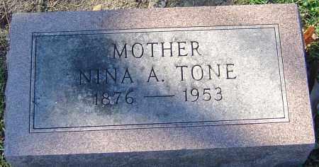TONE, NINA - Franklin County, Ohio | NINA TONE - Ohio Gravestone Photos