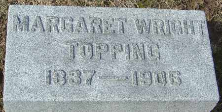 TOPPING, MARGARET - Franklin County, Ohio | MARGARET TOPPING - Ohio Gravestone Photos