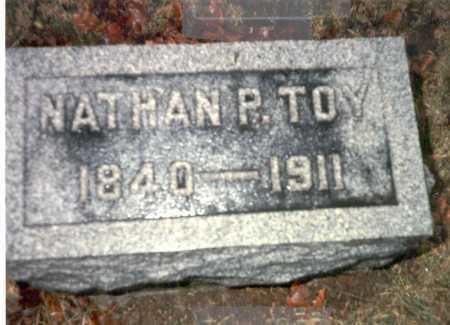 TOY, NATHAN P. - Franklin County, Ohio | NATHAN P. TOY - Ohio Gravestone Photos