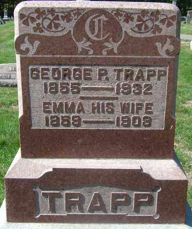 CHRISTMAN TRAPP, EMMA - Franklin County, Ohio | EMMA CHRISTMAN TRAPP - Ohio Gravestone Photos