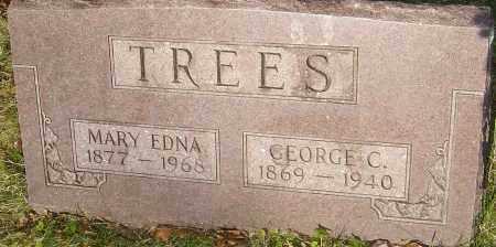 TREES, MARY EDNA - Franklin County, Ohio   MARY EDNA TREES - Ohio Gravestone Photos