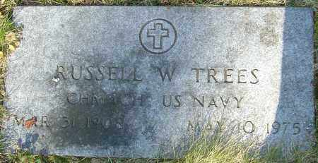 TREES, RUSSELL W - Franklin County, Ohio | RUSSELL W TREES - Ohio Gravestone Photos