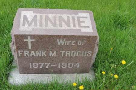 TROGUS, MINNIE - Franklin County, Ohio | MINNIE TROGUS - Ohio Gravestone Photos