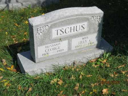 TSCHUS, LILLY C - Franklin County, Ohio | LILLY C TSCHUS - Ohio Gravestone Photos