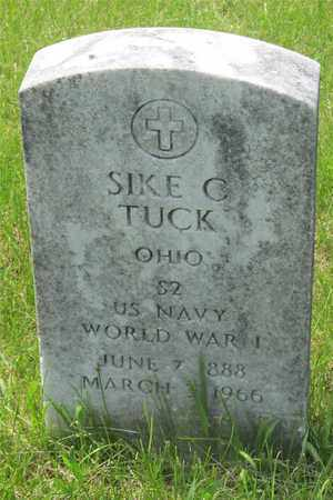 TUCK, SIKE C. - Franklin County, Ohio | SIKE C. TUCK - Ohio Gravestone Photos