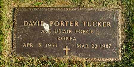 TUCKER, DAVID PORTER - Franklin County, Ohio | DAVID PORTER TUCKER - Ohio Gravestone Photos