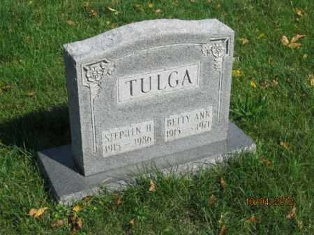 TULGA, BETTY ANN DUNNING - Franklin County, Ohio | BETTY ANN DUNNING TULGA - Ohio Gravestone Photos