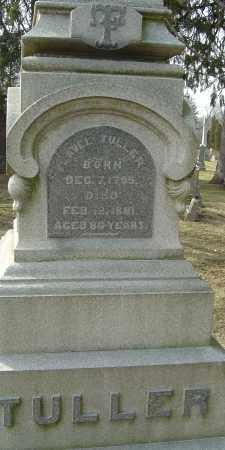 TULLER, FLAVEL - Franklin County, Ohio | FLAVEL TULLER - Ohio Gravestone Photos