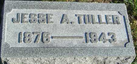 TULLER, JESSE A - Franklin County, Ohio   JESSE A TULLER - Ohio Gravestone Photos
