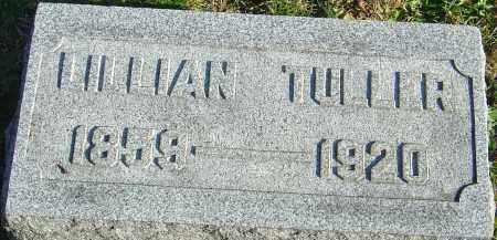 TULLER, LILLIAN - Franklin County, Ohio | LILLIAN TULLER - Ohio Gravestone Photos