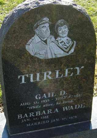 TURLEY, GAIL D - Franklin County, Ohio | GAIL D TURLEY - Ohio Gravestone Photos