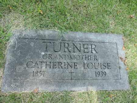 TURNER, CATHERINE - Franklin County, Ohio | CATHERINE TURNER - Ohio Gravestone Photos