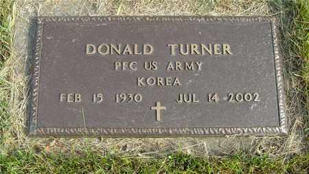 TURNER, DONALD - Franklin County, Ohio | DONALD TURNER - Ohio Gravestone Photos