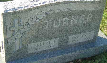 TURNER, EVELLYN E - Franklin County, Ohio | EVELLYN E TURNER - Ohio Gravestone Photos
