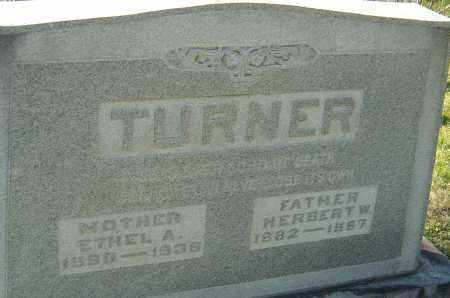 BOWERS TURNER, ETHEL - Franklin County, Ohio | ETHEL BOWERS TURNER - Ohio Gravestone Photos