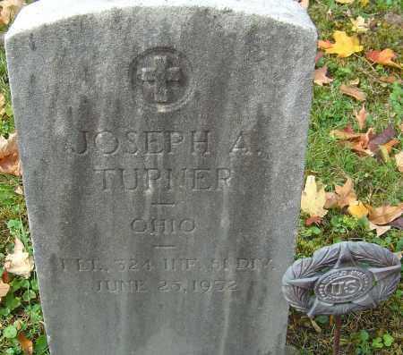 TURNER, JOSEPH A - Franklin County, Ohio   JOSEPH A TURNER - Ohio Gravestone Photos