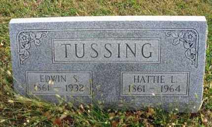 TUSSING, EDWIN S. - Franklin County, Ohio | EDWIN S. TUSSING - Ohio Gravestone Photos