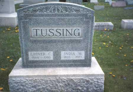 TUSSING, GROVER C. - Franklin County, Ohio | GROVER C. TUSSING - Ohio Gravestone Photos