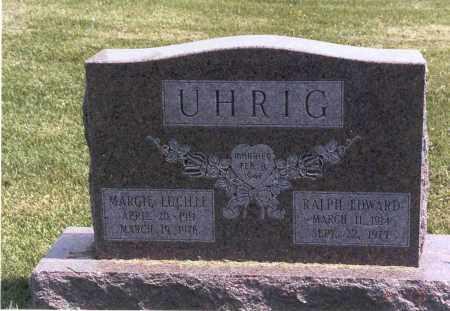 UHRIG, RALPH EDWARD - Franklin County, Ohio | RALPH EDWARD UHRIG - Ohio Gravestone Photos