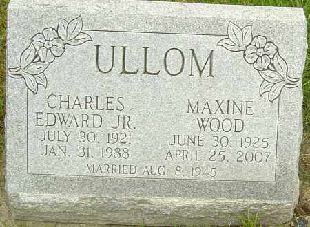 ULLOM, CHARLES EDWARD - Franklin County, Ohio | CHARLES EDWARD ULLOM - Ohio Gravestone Photos