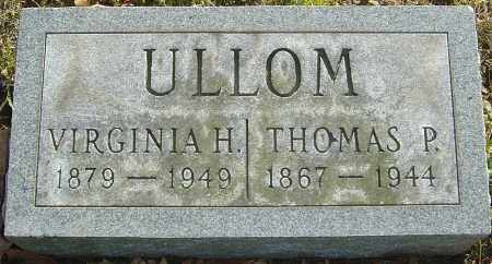 ULLOM, MARY VIRGINIA - Franklin County, Ohio | MARY VIRGINIA ULLOM - Ohio Gravestone Photos