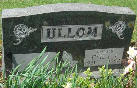 ULLOM, TWILA J - Franklin County, Ohio | TWILA J ULLOM - Ohio Gravestone Photos