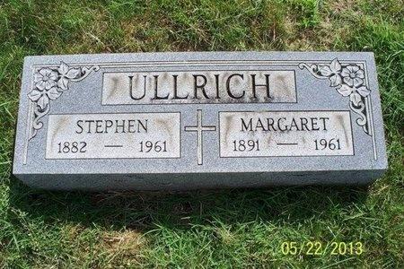 ULLRICH, MARGARET AGATHA - Franklin County, Ohio | MARGARET AGATHA ULLRICH - Ohio Gravestone Photos
