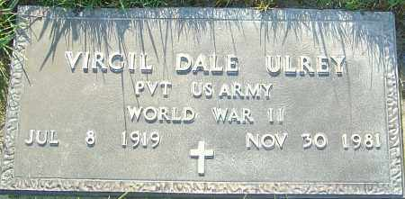 ULREY, VIRGIL DALE - Franklin County, Ohio   VIRGIL DALE ULREY - Ohio Gravestone Photos